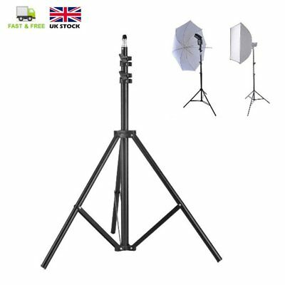 Portable 2M Background Backdrop Light Stand for Flash Light  Tripod Support UK