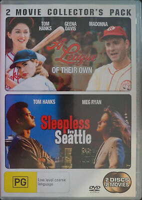 A League Of Their Own  / Sleepless In Seattle (DVD, 2006, 2-Disc Set)
