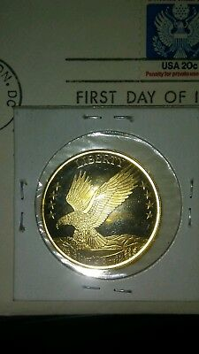 $160 Scrap Exceptional 14 karat 1984 Gold coin American Double Eagle Proof