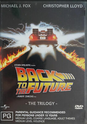 Back To The Future - The Trilogy (DVD, 2004, 3-Disc Set)