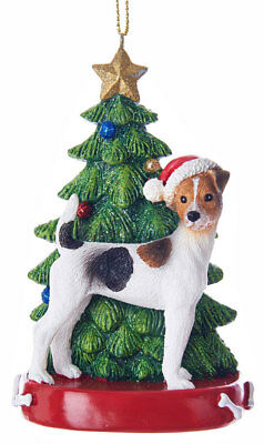 Jack Russell Terrier Christmas Tree Ornament