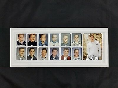 School Years Picture Frame Personalized Name School Photo Frame