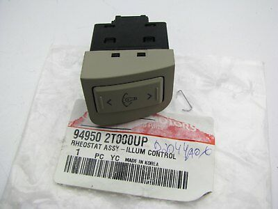 2000 nissan frontier instrument panel dimmer switch