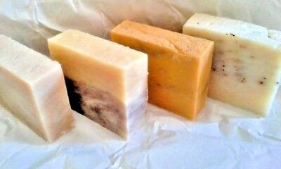 Handmade Organic Vegan Soap Bar - Cold Process - Large 5 oz - Choose Scent +Gift