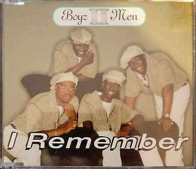 I Remember [CD Single] [Single] by Boyz II Men (Cassette, Nov-1995, Motown)