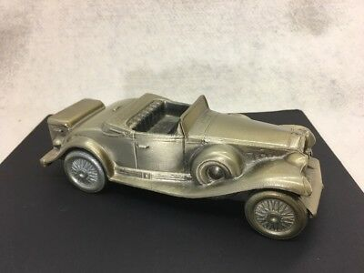 1974 Banthrico Bank of Chicago Cast 1930 Cadillac Convertible Roadster Antique
