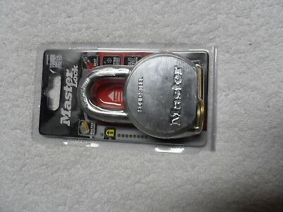 Master Lock 930DPF High Security Keyed Different Padlock with Solid Steel
