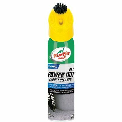 Turtle Wax T-244R1 Power Out! Carpet Cleaner And Odor Eliminator - 18 Oz.