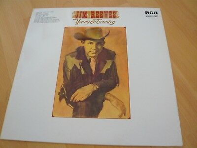 JIM REEVES - Young & Country   -LP-