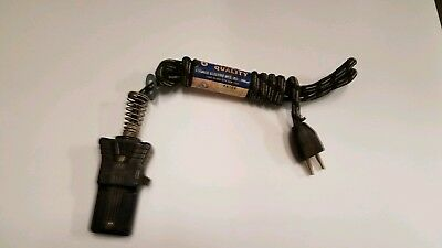 Vintage Eagle Cloth 10 Amp Appliance Cord With Switch--NWT Old Stock 6 foot Long