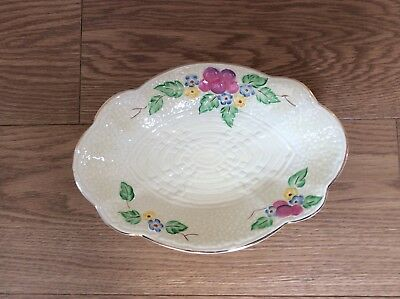 Crown Devon Cream Serving Dish
