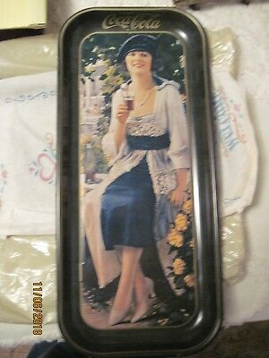 Vintage Large Rectangular Coke Tray 19 x8 1/2 excellent condition.