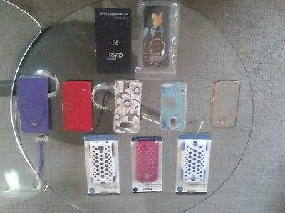 Cell Phone Cases Protectors Mixed Lot Screen New Used Assorted Colors Models HTF