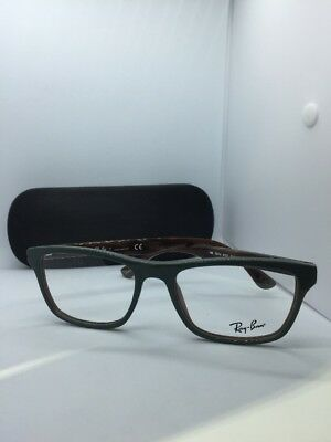 8e20b65c965c4 NEW Ray Ban RB 5279 5132 GREEN VARIEGATED EYEGLASSES FRAME RB 5279 53-18-