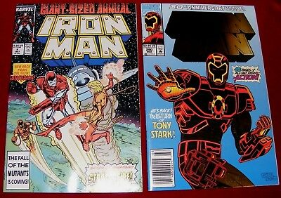Iron Man Giant Sized Annual #9 & Iron Man # 290, 30th Ann. Issue! Original Owner