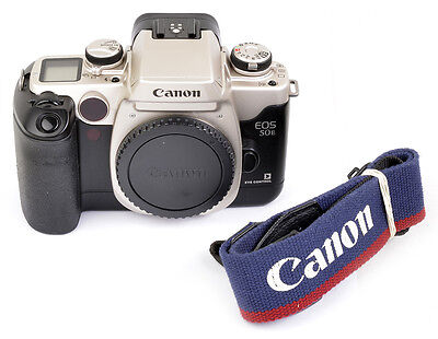 Canon EOS 50E eye control  Made in JAPAN ! FAST WIE NEU condition A-, like NEW !