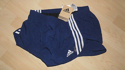 adidas sprinter split running shorts blau NEU in OVP
