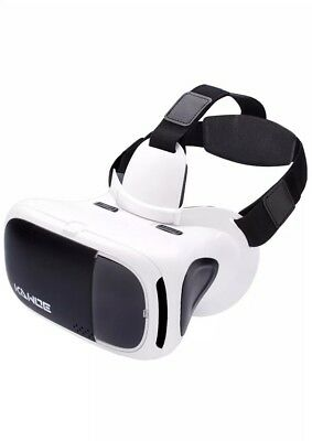 VR Headset, KAWOE 3D Virtual Reality Glasses Compatible with Smartphone