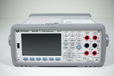 Keysight Used 34470A Digital multimeter, 7 1/2 digit Truevolt DMM(Agilent)