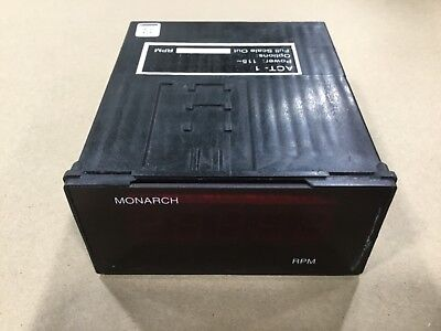 Monarch ACT-1 Digital Tachometer RPM #13A38