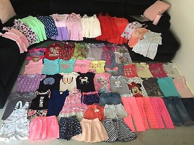 Bulk lot girls sz 6 summer clothes Roxy Frozen Disney Bonds Mango Cotton On