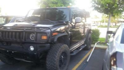 2004 Hummer H2 4X4 RED LEATHER 86K MILES 2004 HUMMER H2  GREAT FOR EXPORT