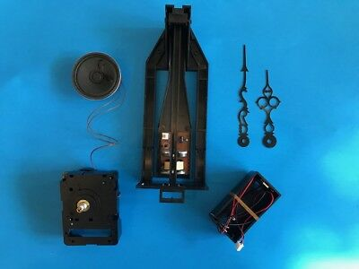 Grandfather or Grandmother Clock Conversion to Battery Kit- Chiming Movement 128