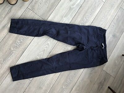 New Look Maternity Cigarette Trousers Size 10 Navy