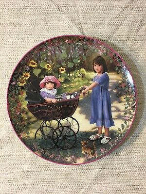 JOYS OF LIFE Chantal Poulin 6th Kindred Moments Collectible Plate No. 2203A