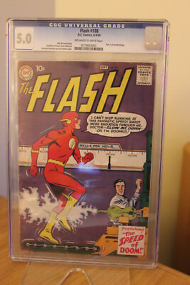 The Flash #108 (DC, 1959) CGC VG/FN 5.0 Off-white to white pages