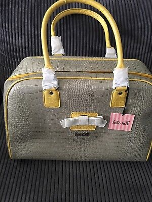 Kate Hill New Yorker Weekender / Cabin /  Overnight Bag - Brand New With Tags