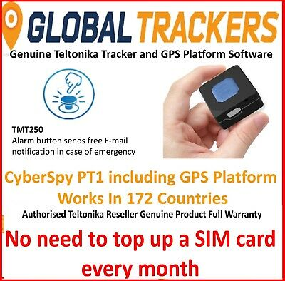 CyberSpy PT1 GPS Personal Tracker Kids Pet Car Spy Elderly Small Tracking Device