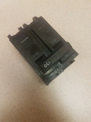 GE General Electric THQL2100 2 Pole 120/240 Amp Circuit Breaker 100 amp