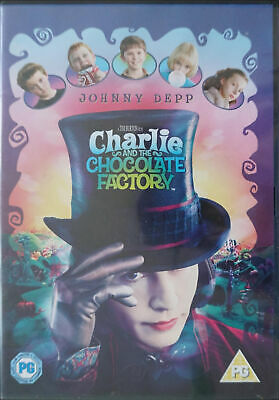 Charlie and the Chocolate Factory DVD Region 2