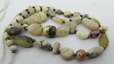 43 Ancient rare Sulemani, Chung dzi &Carnelian mix agate beads from Afghanistan.
