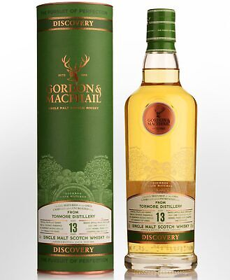 Gordon & Macphail Discovery Tormore 13 Year Old Single Malt Scotch Whisky (70...