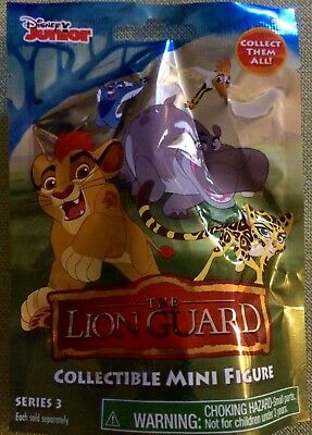 Disney Junior ~ The Lion Guard Series 3 ~ Mini Collectable Figure In Blind Bag
