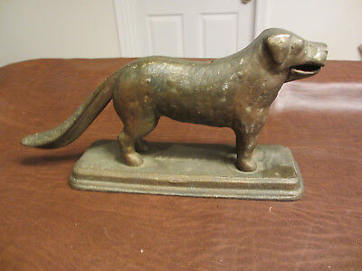 """VINTAGE ANTIQUE EARLY 1900s """"OLD DOG TRAY"""" CAST IRON NUT CRACKER NUTCRACKER TOOL"""