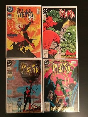 The Weird #1, 2, 3, 4 complete lot by bernie wrightson jim starlin DC comics