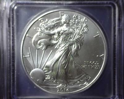 2014 American Silver Eagle ICG MS 70 First Day of Issue #2901 79488604501