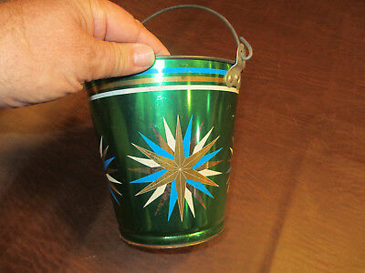 Vintage Antique Old 1950S 60S Ohio Art Toys Star Burst Beach Sand Water Pail Toy