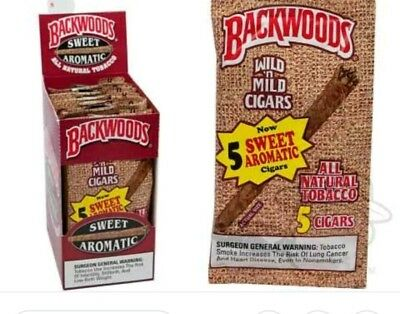 Backwoods Sweet box of [8] 5 pk fresh guaranteed