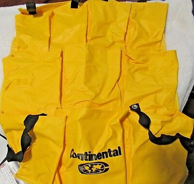 Continental 277 10 Pockets Yellow Bag Caddy for 275, 54 & 55 Cart