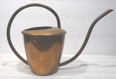 Vintage Brass Copper Plant Watering Can <>.One Qt