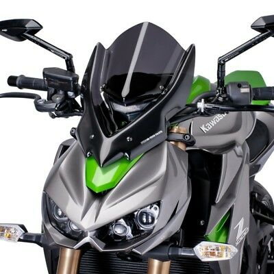 Kawasaki Z 1000 2014 > Puig Screen Dark Smoke Naked Windscreen Touring