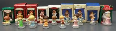 14 Marys Angels Hallmark Ornaments Collector Series 1 2 3 6 8 10 15 16 26 27 28