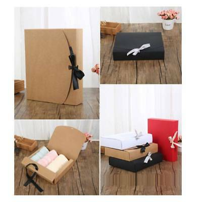 Kraft Paper Box Candy Gift Party Wedding Favors Jewelry Packing Case Boxes Decor