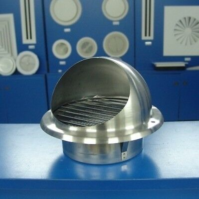Stainless Dome Louver 150mm Model: VLA150