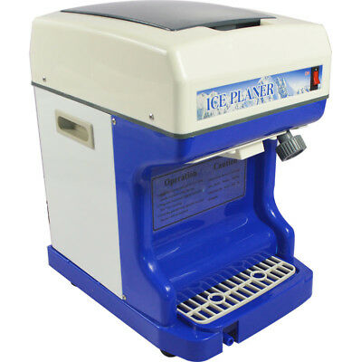 Fully Automatic Electric Ice Shaver Ice tube Crusher Commercial Use