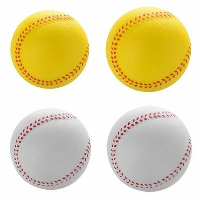 Safety Baseballs Foam PU Training for Children Players Reduced Impact Softball